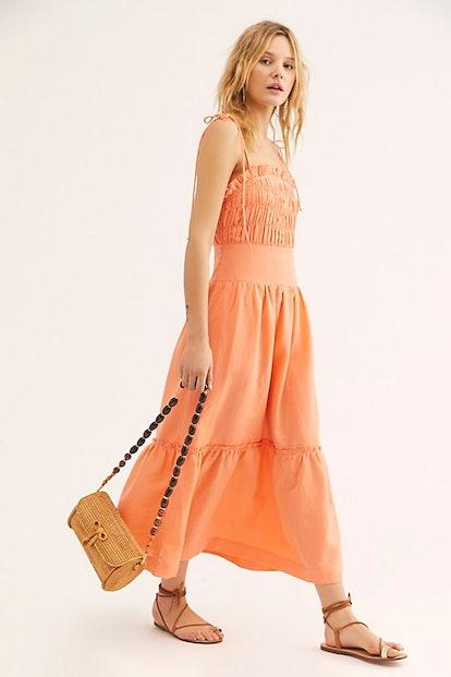 Late Checkout Midi Dress