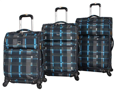 LUCAS Ultra Lightweight Expandable Suitcase Set (3 Piece)