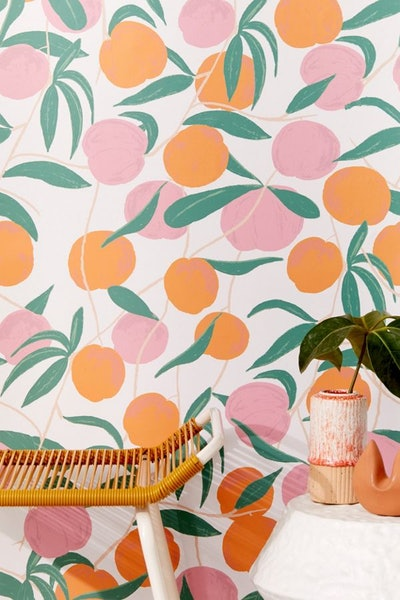 Peaches Removable Wallpaper