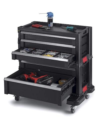 Keter 240762 5 Drawer Modular Garage & Tool Organizer
