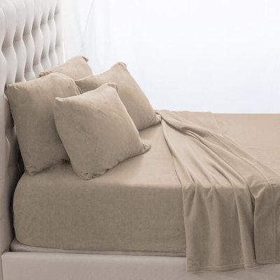 Bare Home Fleece Super Soft Premium Sheet Set
