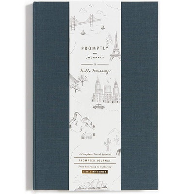 Compact Travel Journal with Prompts
