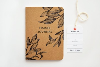 Kraft Travel Journal