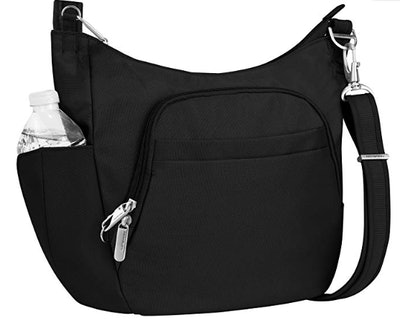Travelon Anti-Theft Cross-Body Bucket Bag