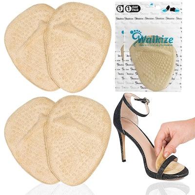 Walkzie Metatarsal Foot Pads (2 Pairs)