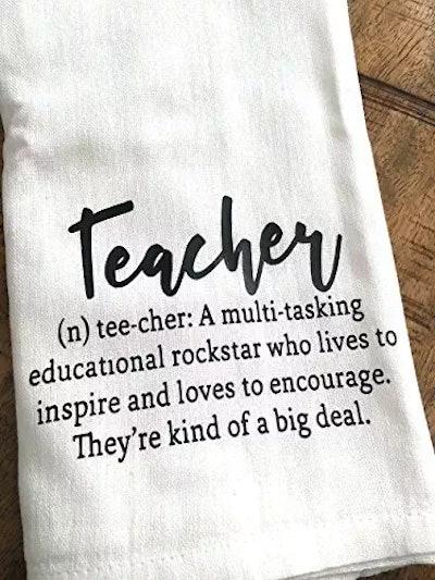 Kitchen Towel For Teacher