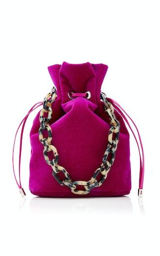 Edie Parker Shorty Velvet Bag