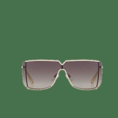"""""""Mask"""" Sunglasses in Metal"""