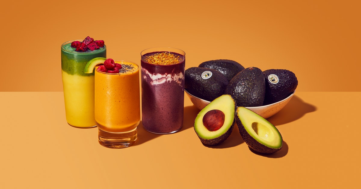 3 California Avocado Smoothies To Make Based On Your Mood
