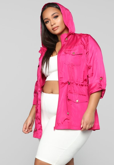 Fashion Nova Beyond The Wind Jacket