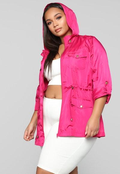 Fashion Nova Beyond The Wind Jacket
