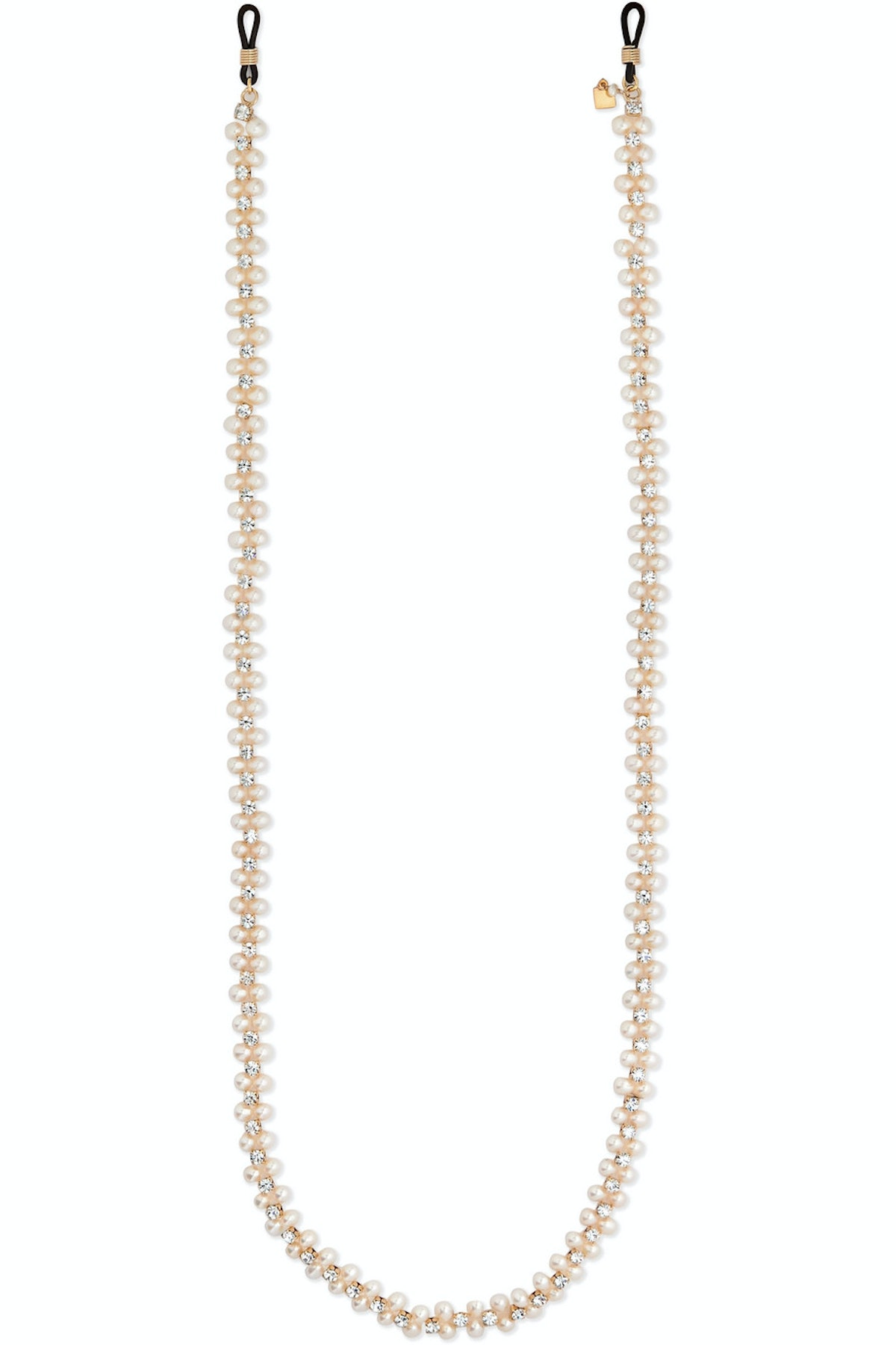 Hollywood Crystal and Pearl Sunglasses Chain