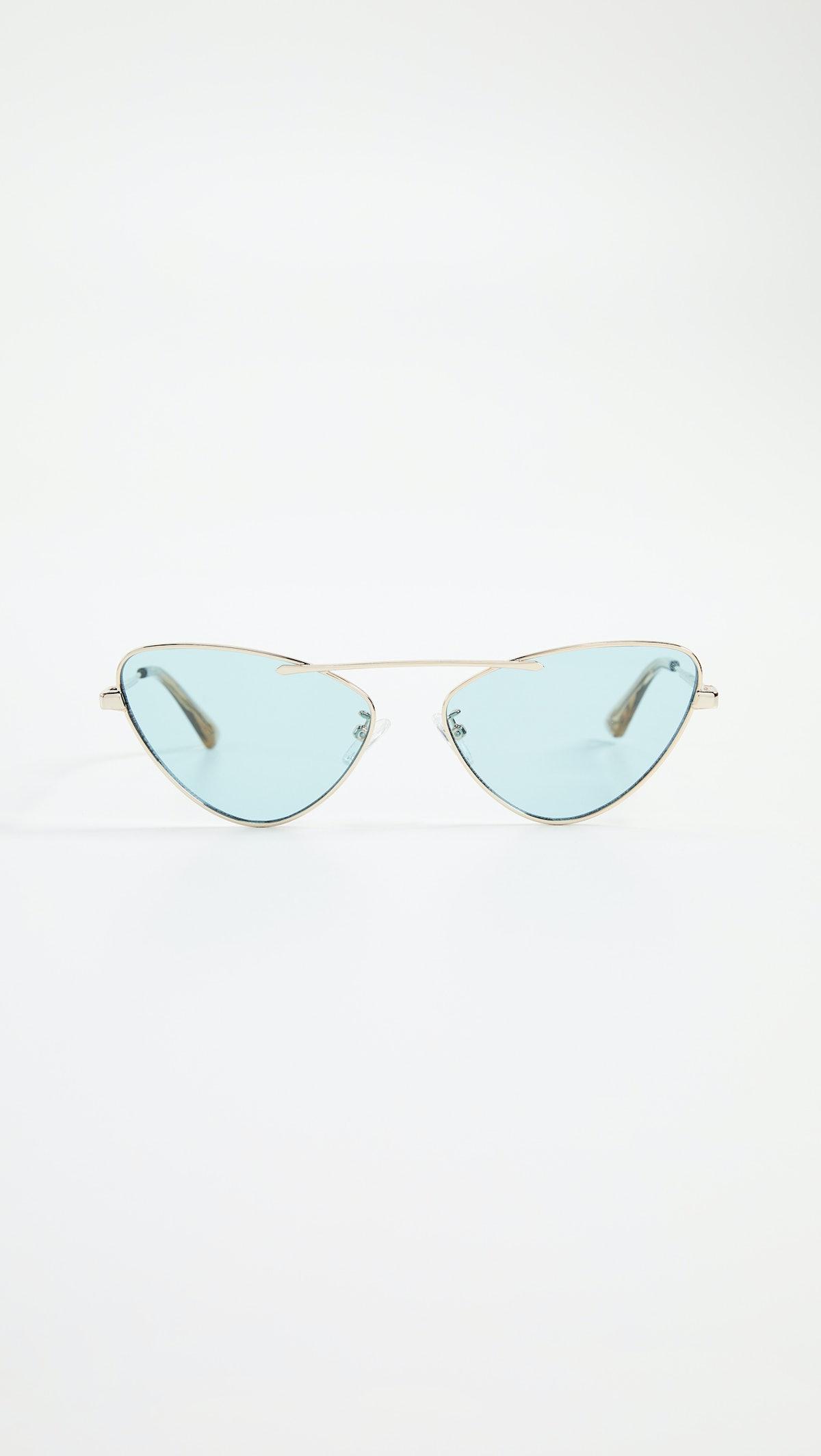 Narrow Cat-Eye Sunglasses