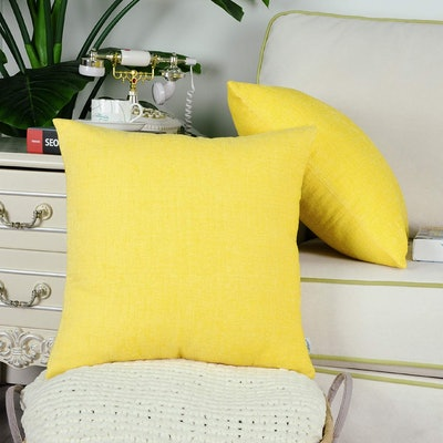CaliTime Throw Pillows (Set of 2)