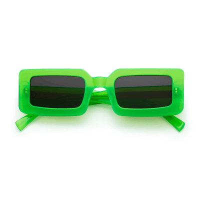 Neon Kryptonite Green Sunglasses