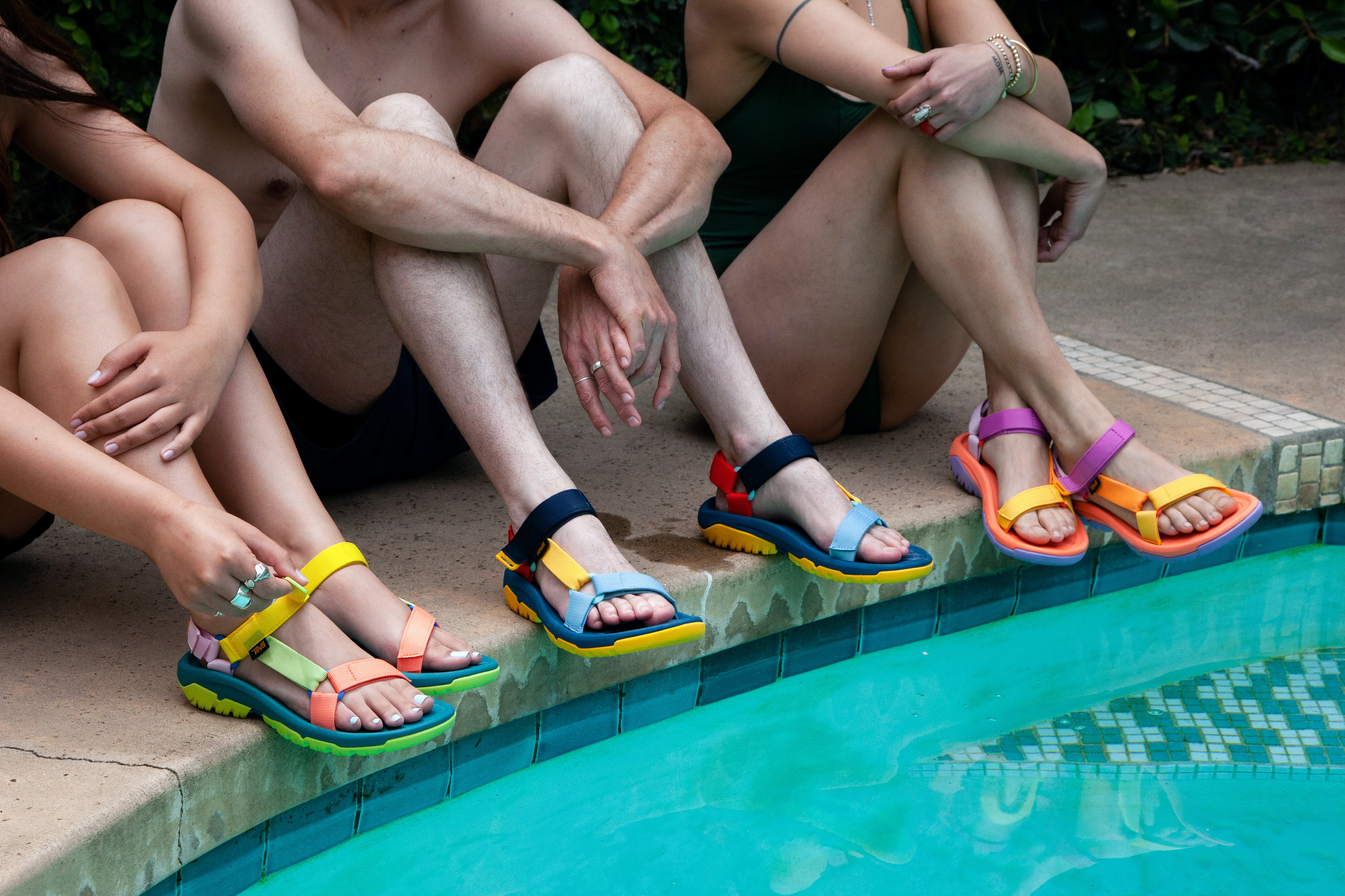 Teva Mens Hurricane XLT2 Walking Shoes Sandals Multicoloured Sports Outdoors