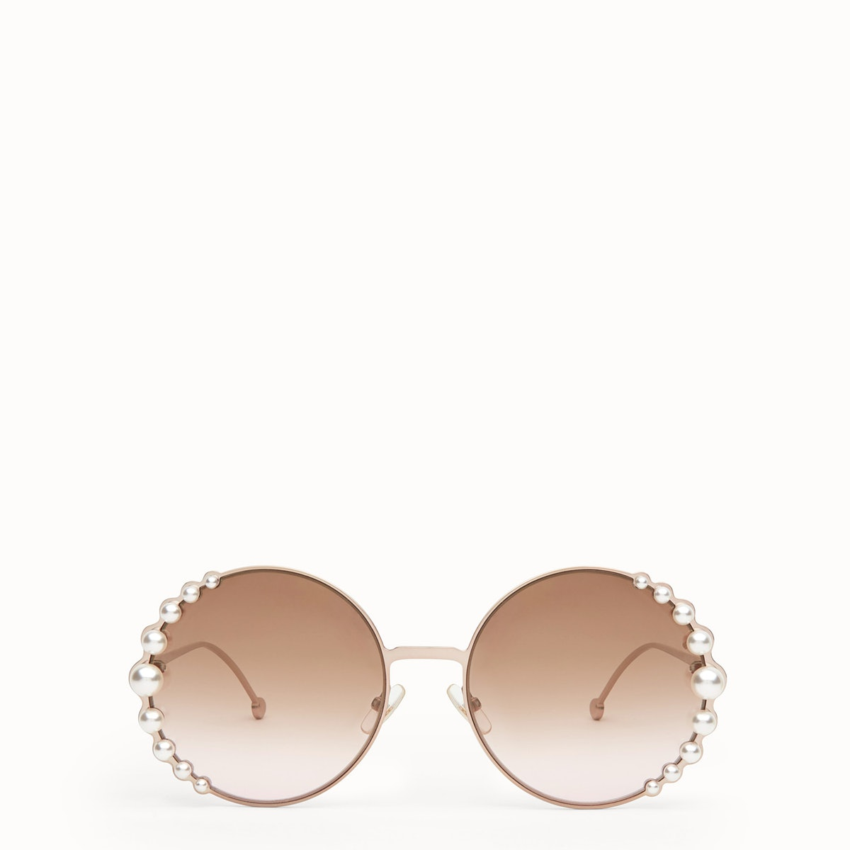 Ribbons & Pearls Metallic Sunglasses