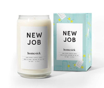 New Job Scented Candle
