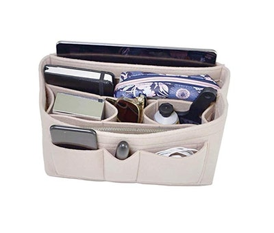 Handbag Organizer, 2in1 Bag Purse Tote Insert