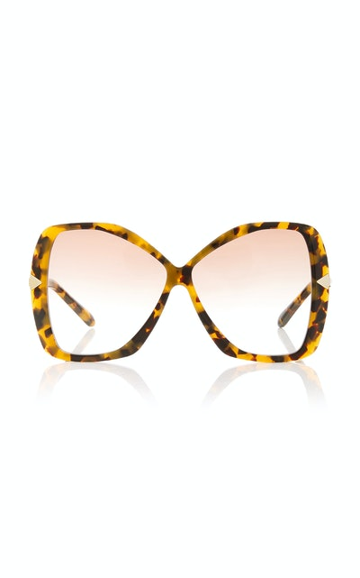 Mary Oversized Acetate Sunglasses