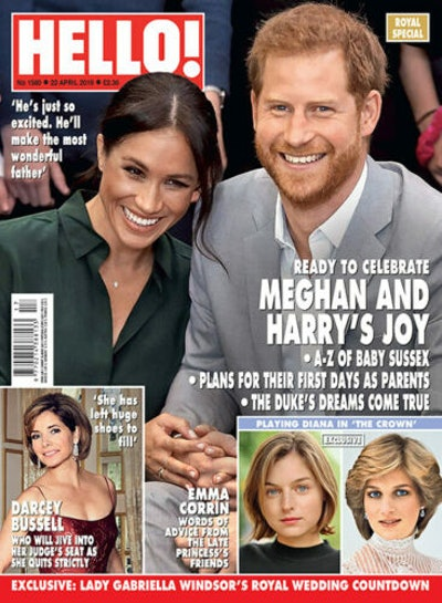 HELLO Magazine 2019 MEGHAN MARKLE HARRY ROYAL BABY SPECIAL