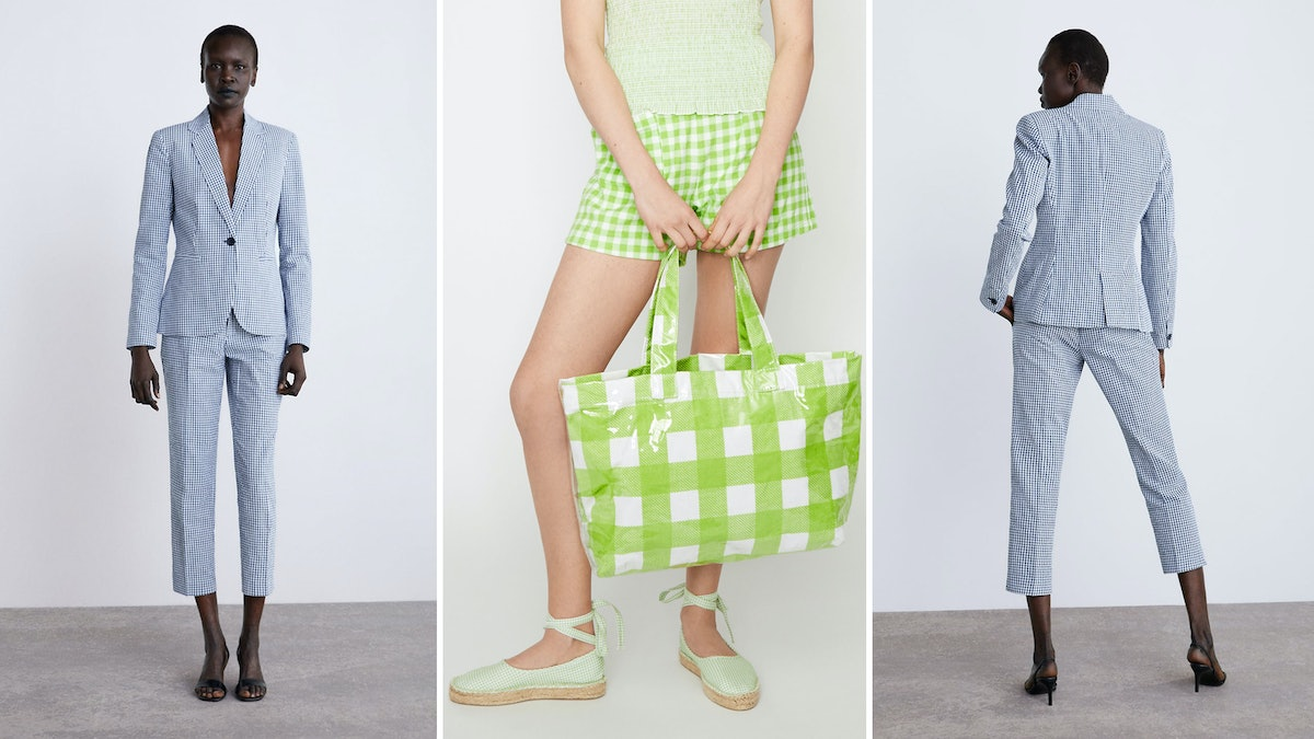 9 Gingham Pieces To Wear This Summer, Because Looking Like A Picnic Blanket Is The Biggest Trend RN
