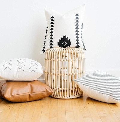 Woven Nook Decorative Throw Pillows (Set of 4)