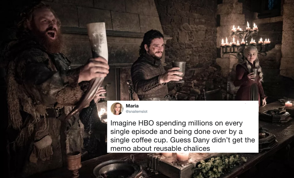 Image result for game of thrones coffee cup mistake tweet