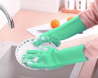Familighter Scrubber Dish Gloves