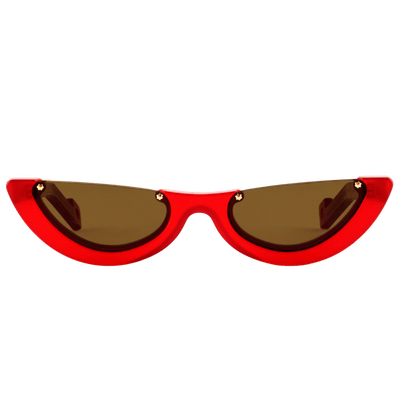 Empat 4 Lucid Red Sunglasses