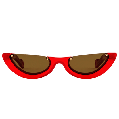 Empat 4 Lucid Red Sunglasses