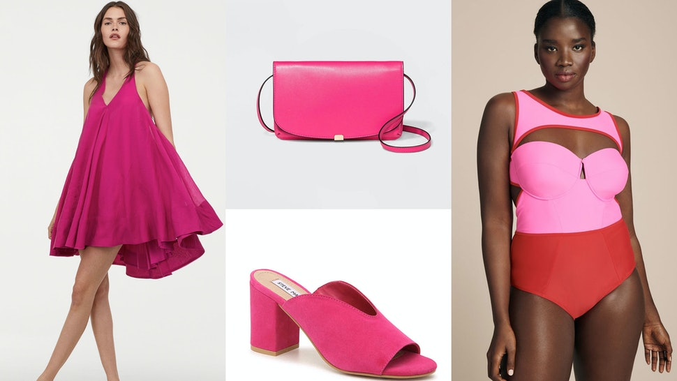 d7c995ff5511 Bright Pink Is The Summer 2019 Fashion Trend You'll Want To Get On ASAP
