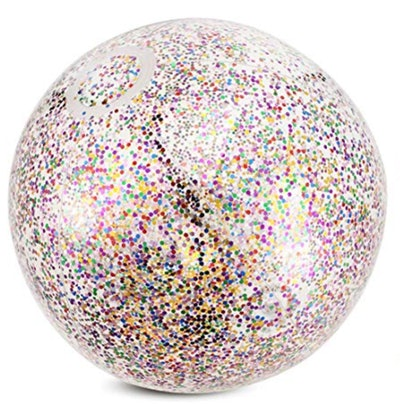 Onene 16-Inch Glitter Beach Ball