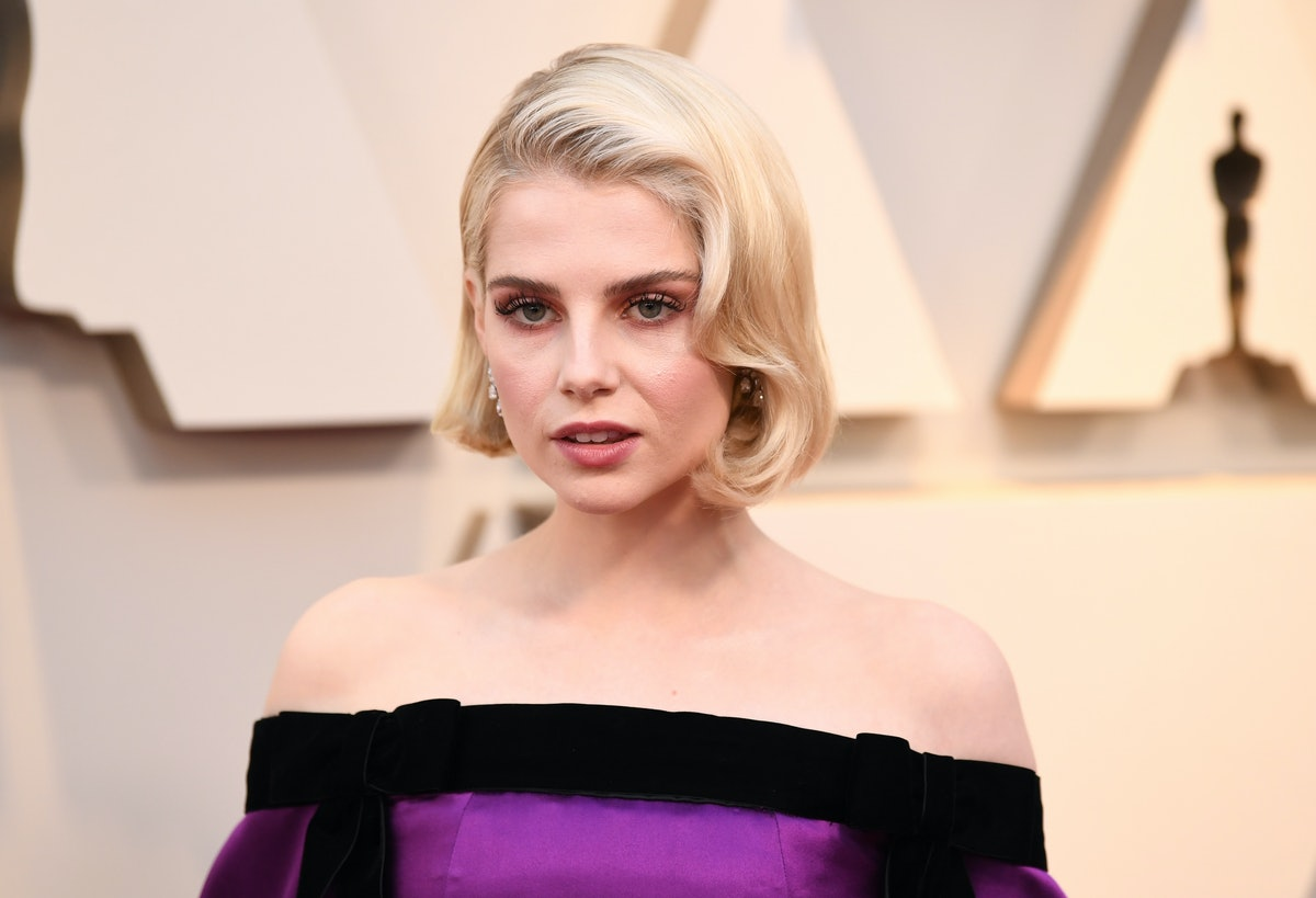 Lucy Boynton's 2019 Met Gala Hair Offers A Chic Approach To Statement Hues