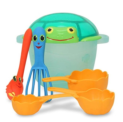 Melissa & Doug Sunny Patch Seaside Sidekicks Sand Baking Set