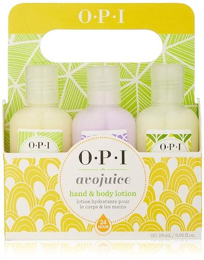 OPI Avojuice Hand Lotion, Minis Sampler 6-Pack
