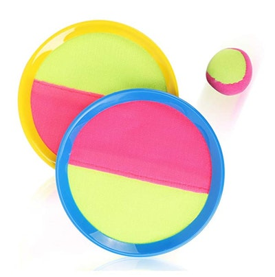 Liberty Imports Classic Toss & Catch Sports Game Set for Kids with Bean Bag Ball