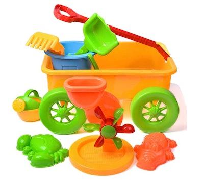 Beach Wagon Toys Set for Kids