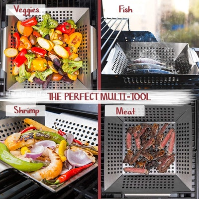 Luxury Grill Products Grill Basket