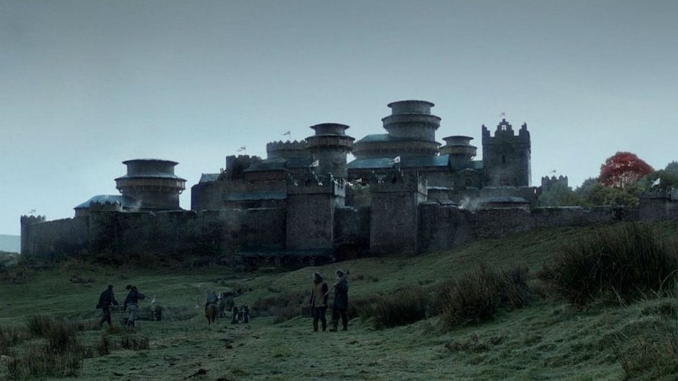 12 'Game of Thrones' Winterfell & North Of The Wall Filming