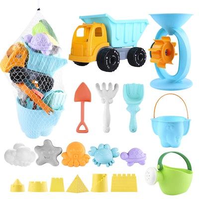 Balnore Kids 20-Piece Sand Toy Set