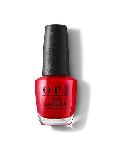 Nail Polish In Big Apple Red
