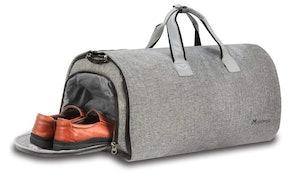 Modoker Convertible Garment Bag With Shoulder Strap