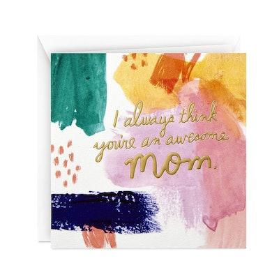 Hallmark Studio Ink Mothers Day Card
