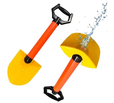 HONGKIDS 2 in 1 Sand Shovel Super Soaker