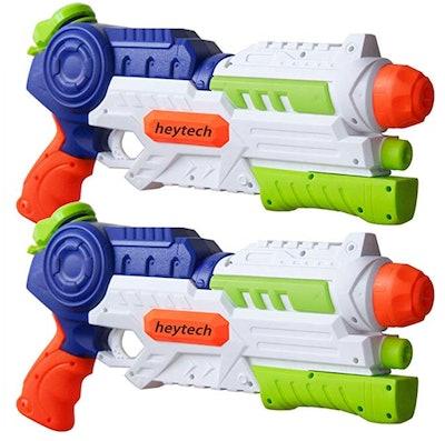 heytech 2 Pack Super Water Gun Water Blaster 1200CC