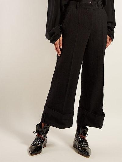 Sailor Crepe Trousers