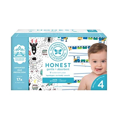Super Club Box Diapers with TrueAbsorb Technology