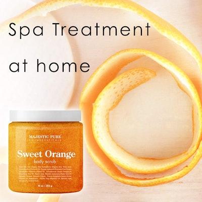 Majestic Pure Cosmeceuticals Sweet Orange Body Scrub