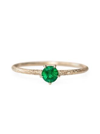 Inishmore Emerald Ring